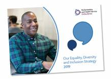 Our Equality, Diversity and Inclusion Strategy 2019 document cover