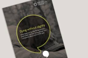Dying without dignity report cover