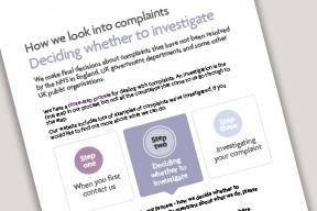 Image from deciding whether to investigate leaflet
