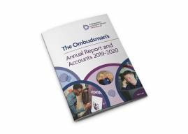 Cover image of Annual Report and Accounts 2019-20